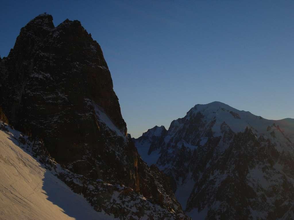 tramonto sui Drus.