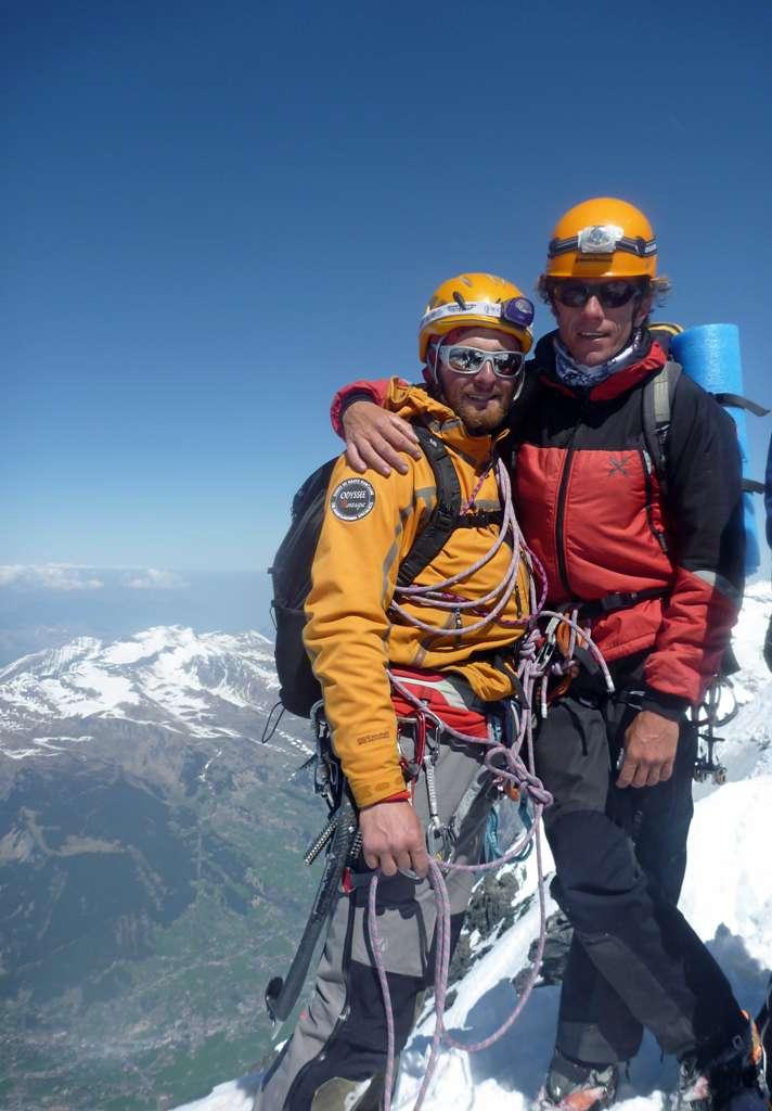 Soli in cima all'Eiger...sensazioni dopo aver scalato una delle pareti simbolo delle Alp