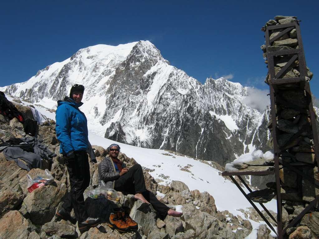 nei pressi del bivacco, la meraviglia dell'ambiente selvaggio della Val Veny