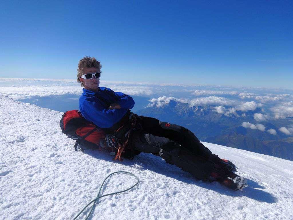 Relax in cima al Monte Bianco!