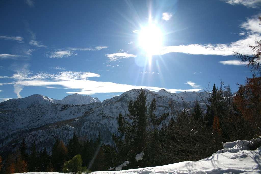 Panorama d'inizio inverno.