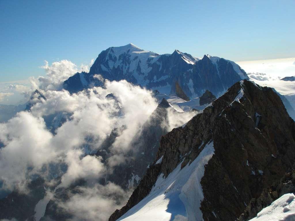 Immagini dalla cima