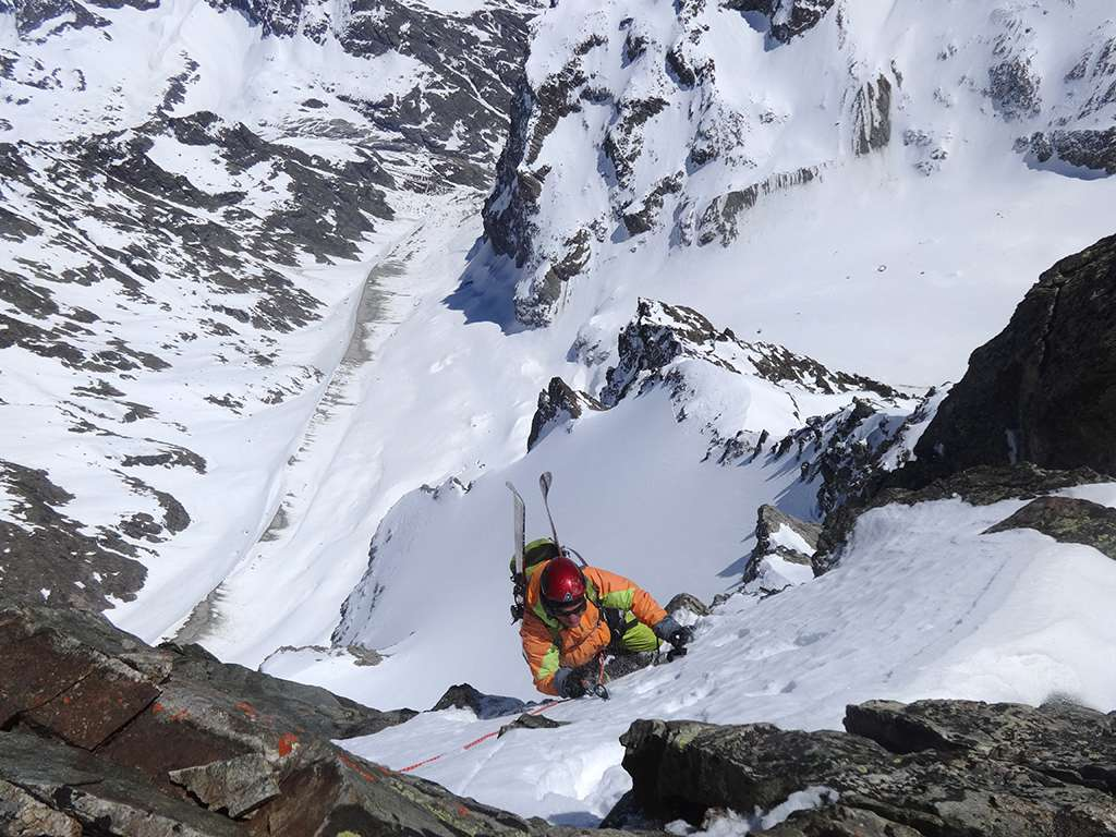 Ultimi passi tecnici tipici dello sci alpinismo!
