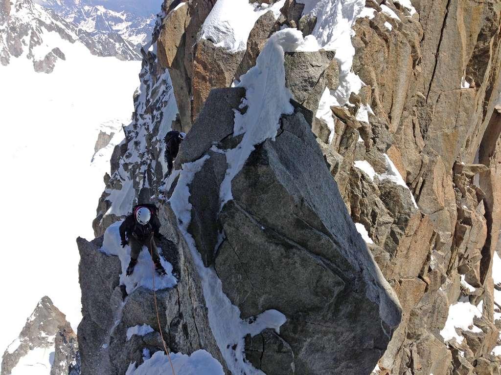 A volte si scala...a volte si striscia!