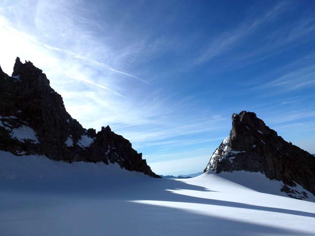 Bocchetta del Monte Nero o col di Peuterey?