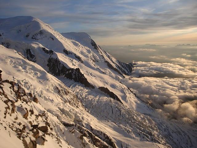 Monte Bianco...l'imenso versante glaciale francese