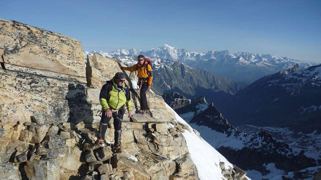 Marco, Max e monsieur le Mont Blanc