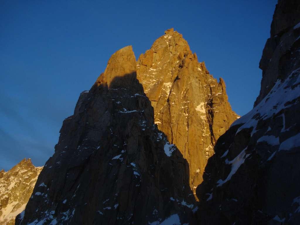 ...e anche il Pic Sans Nom. Momenti indimenticabili su una delle vie storiche del massiccio del Monte Bianco
