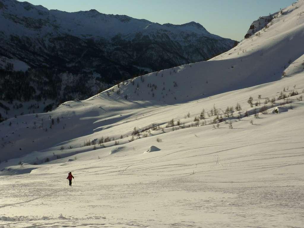 cia spetta una bella discesa a sci