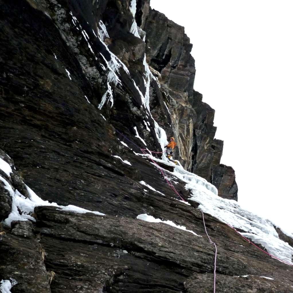 Enrico sul terzo tiro...alla ricerca del ghiaccio perduto!