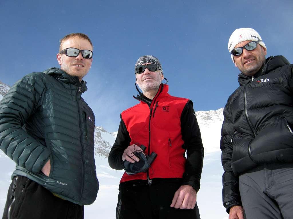 Il trio Gillet.