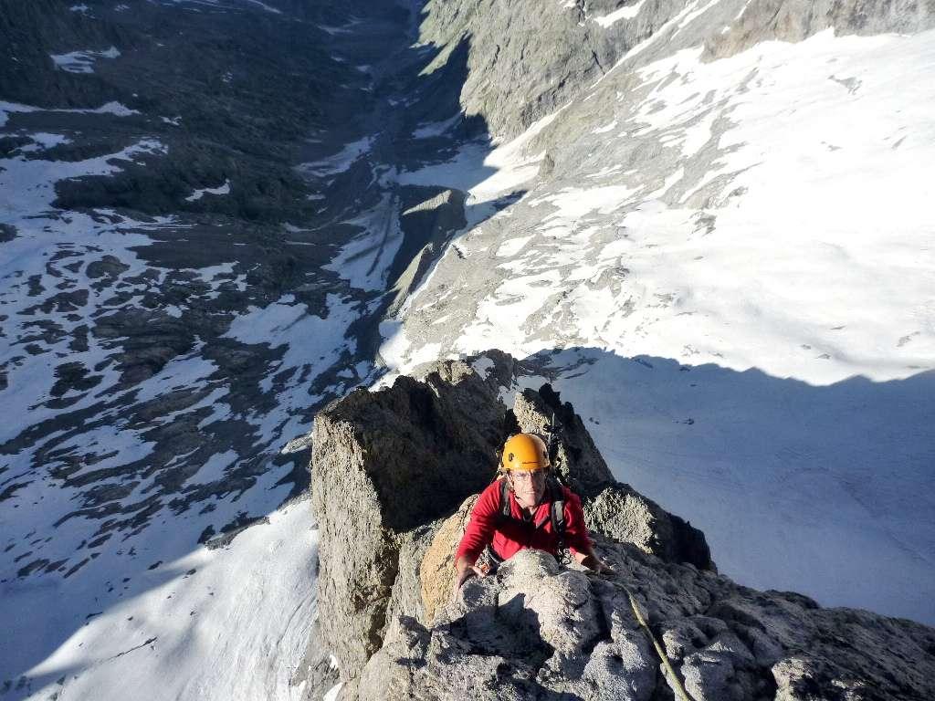 Ultimi passi prima del Glacier Carré