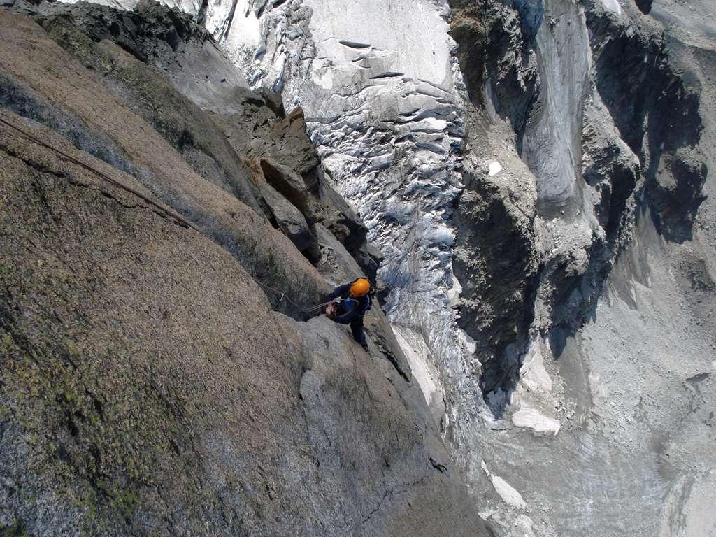 Se esistesse una via di 1000m tutta come questi ultimi tiri...sarebbe il Paradiso degli arrampicatori!!
