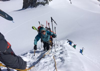 Ski touring course – advanced