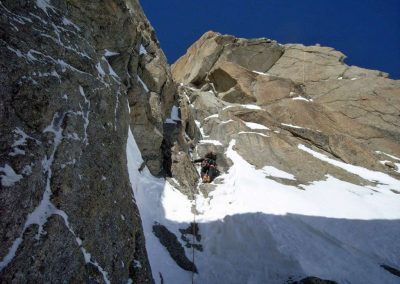 Winter alpine climbing course –  advanced