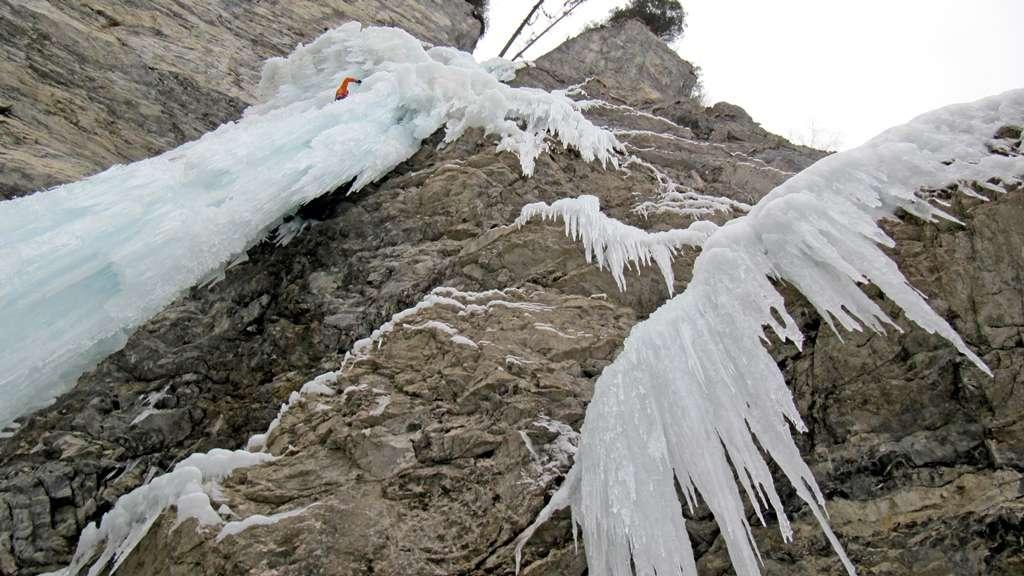 Labirinto di ghiaccio! Esposizione garantito!