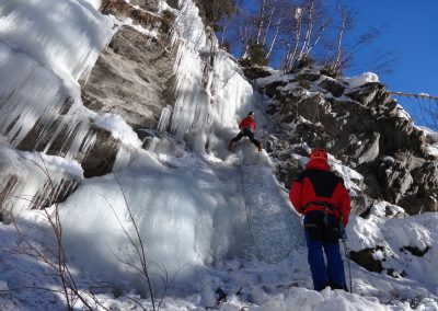Ice climbing course – basic
