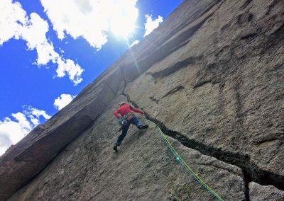 Corsi di arrampicata trad