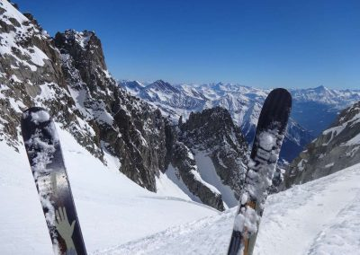 Freeride in Mont Blanc range