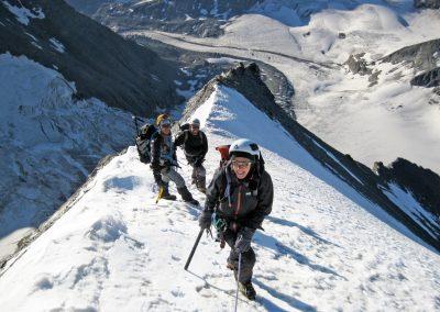 Mont Braulé e Grand Combin