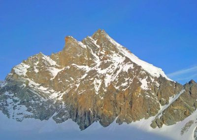 Zinalrothorn and Dent Blanche