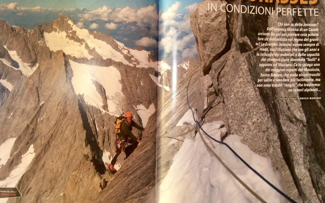 Grandes Jorasses a 360 gradi – Pareti Magazine