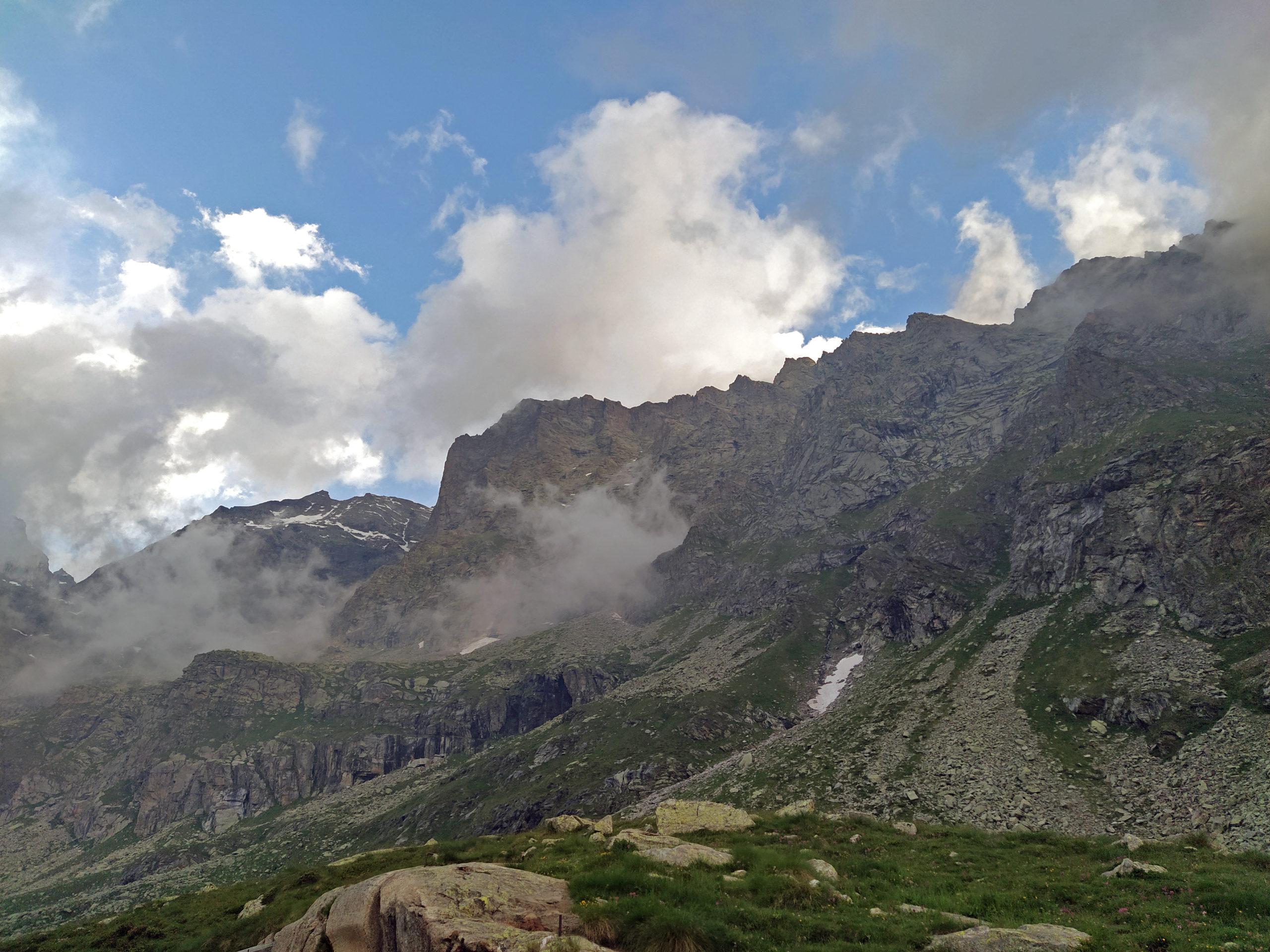 La parete W del Becco di Valsoera