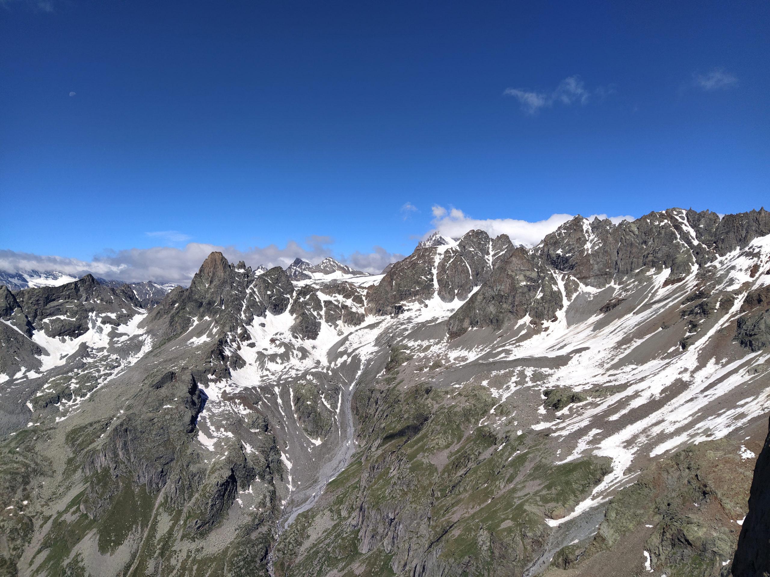 Panorama sul Becco Meridionale della Tribolazione